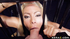 Amazing ass latina slave Luna Star loves being butt fucked