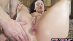 Horny hot Aletta Ocean sucking cock
