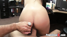 Real Pawn Shop Customer Gives Up Ass for Cash Captured on Hidden Camera in HD xp14697