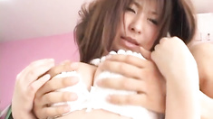 Superb porn show along insolent Mimi Kousaka