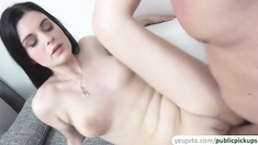 Czech Teen Alice Nice shows her perfect tight pussy for Euros