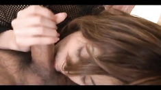 Natsumi is nailed in licked cooter by joystick she sucked