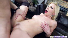 Lusty MILF Ashley Fires enjoys fucking with her daughters bf