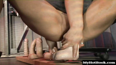 Leah Lexington has a thing for being able to fit almost any sized