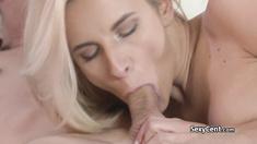 Lingerie milf fucking fresh cock