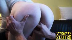 Nasty blonde babe Jessica Jensen gets a bondage spankathon