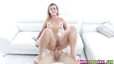 Kelsi Monroe gets anal doggystyle by Jmacs big cock