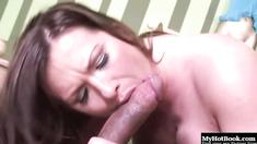 Katja Kassin is a very horny, brunette MILF, who has a tattoo on