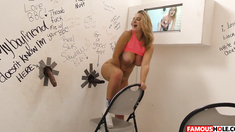 Brooke Wylde Takes A BBC At The Famous Hole