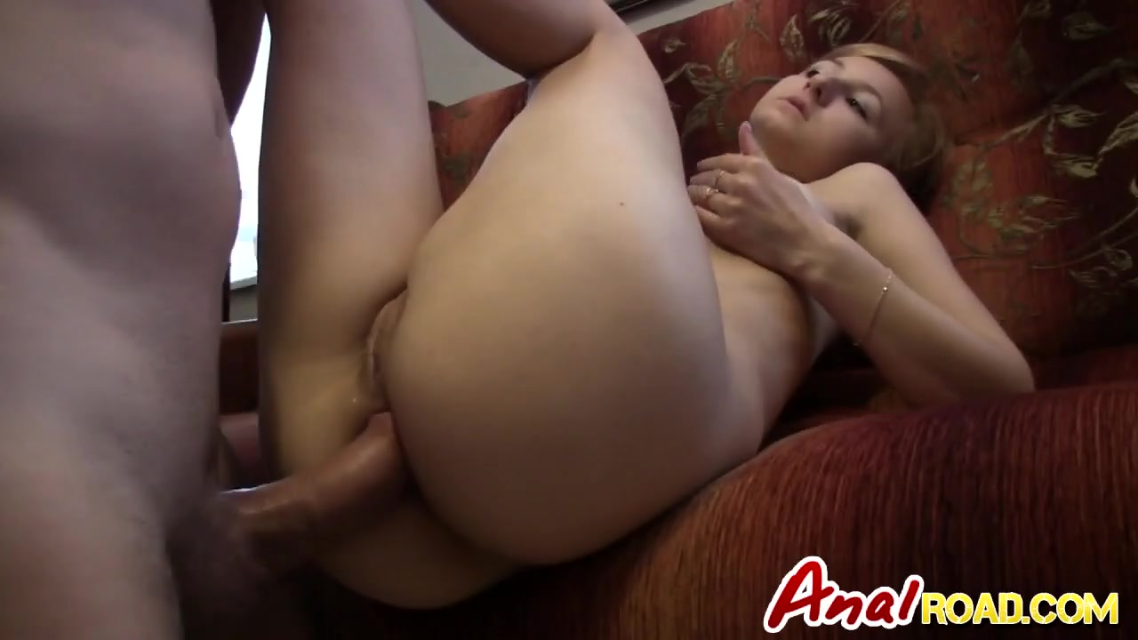 First anal film
