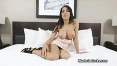 Teen ebony big tit cock casted