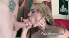 Kirra Lynn is taking some dick in her tight twat