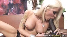 Blonde Helly Mae Hellfire Gets Stuffed By A BBC