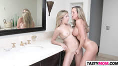 Mom Brandi Love showing teens how to do it