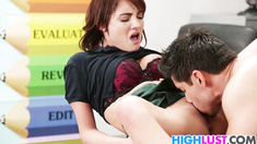 Horny teen Chase Ryder takes a pounding