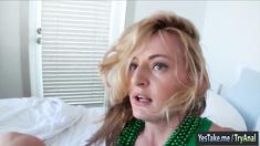 Sexy gf Natasha Starr tries out anal sex