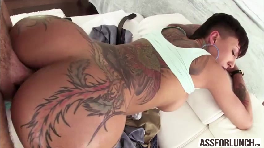 tattoo ass porn