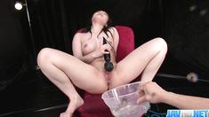 Hina Maeda Masturbates And Has Three Guys Cum For Her - More at javhd.net