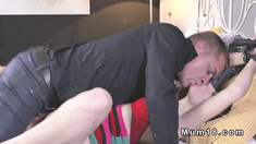 Hairy Milf tied up and fucked