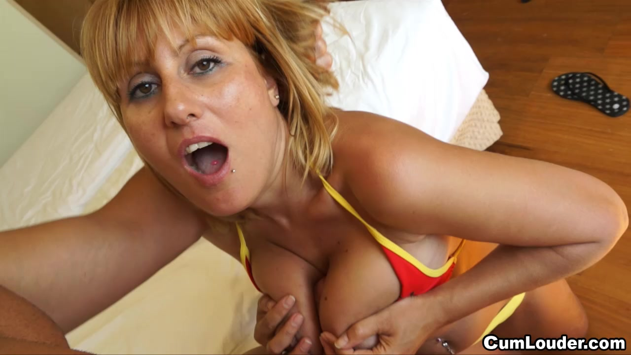busty spanish milf with big ass sucks and fucks a monster cock