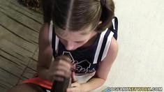 Cheerleader Lara Brookes