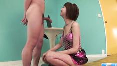 Strong anal hardcore along horny Miriya Hazuki