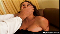 Tiffany Mynx is a whore who will do anything a man wants her