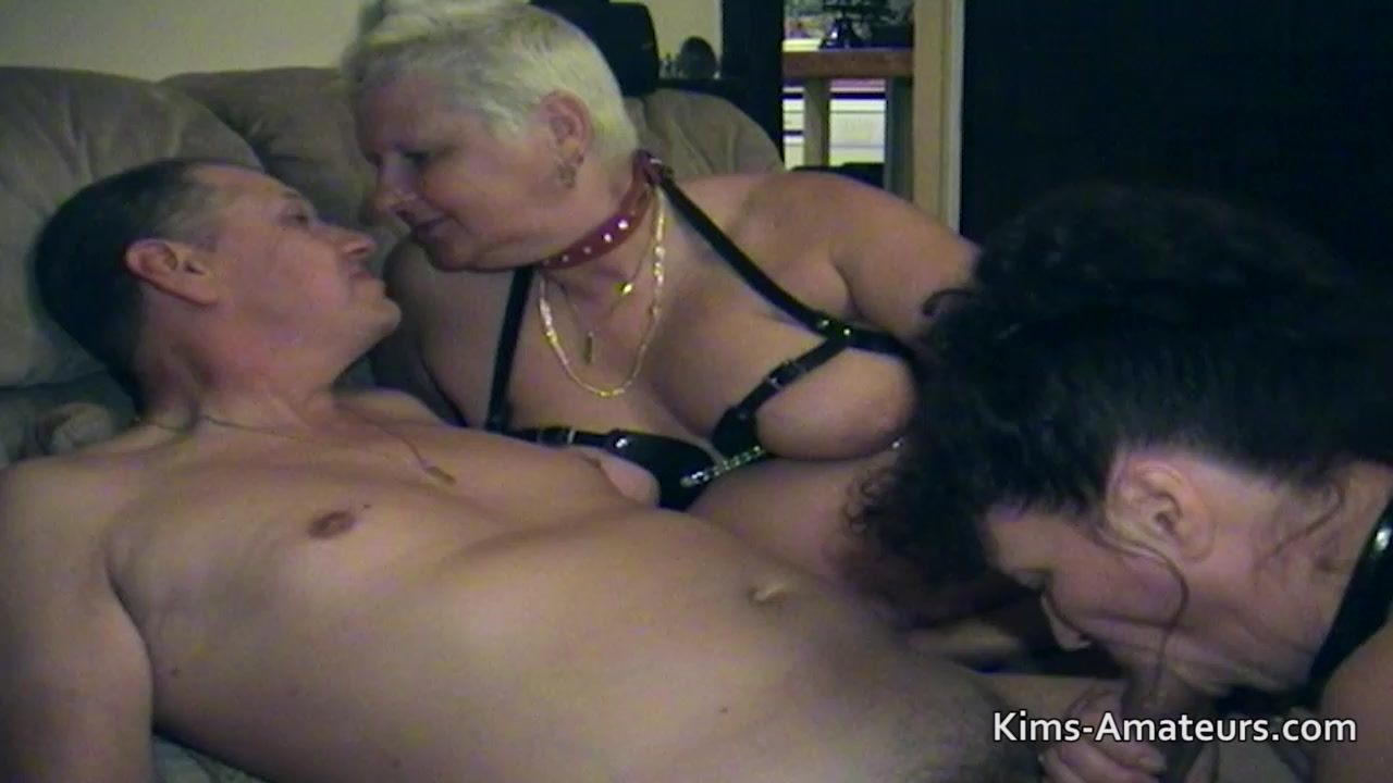 Fat Granny At An Amateur Swinger Home Party-4520