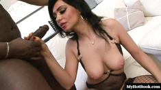 Ivannah Su is a sexy slut who loves black dick and anal sex.