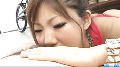 Top POV blowjob scenes alongMahiru Tsubaki