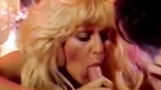 Brunette Gets A Leason In Dick Sucking