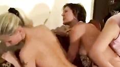 Cheating Lesbians Spanked