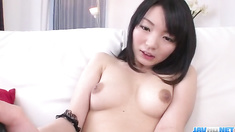 Konoha sweet toy insertion solo caught on cam