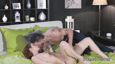 Euro couple havw oral sex in sixty nine