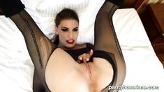 Fetish babe Angelina solamente