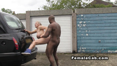 Cab driver big tits banged by black cock