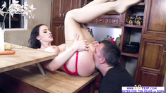 Babe Chanel Preston is a cock hungry whore in action
