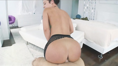 Huge Ass Jada Stevens Blowjob And Mounted Fucking POV