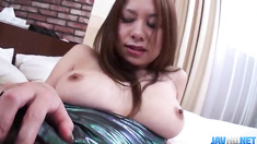 Ravishing sex with big tits Japanese hottie Hiromi