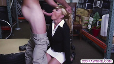 Hot MILF gets an offer she can't refuse