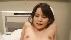 Emiri Aoi rubs shlong before fucking it