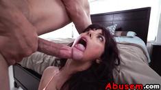 sizzlingm cute Gina Valentina wish granted rough sex she never forget