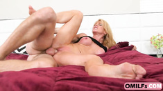 Desperate Blonde MILF Amanda Verhooks Wants Another Orgasm