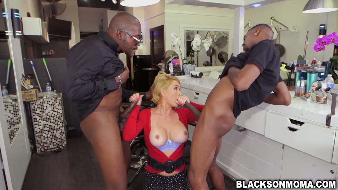 Milf krissy fuck in a salon giant cocks