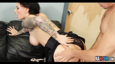 Hot Busty Boss Rides Young Cock Hard Christy Mack