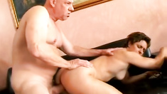 Hot mama fucking her husband using her muscle control pussy