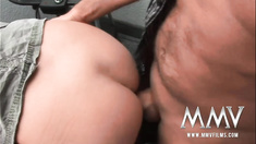 German mature wife gets the cock inside her