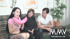 When relationships last longer they tend to become a bit boring. That?s why sent Meli Deluxe on the road! This German slut with her big fake tits loves to fuck with random stranger until they have an explosive orgasm!