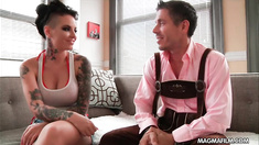 Christy Mack enjoys fucking foreign dicks