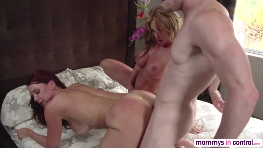 Boy fucks older women